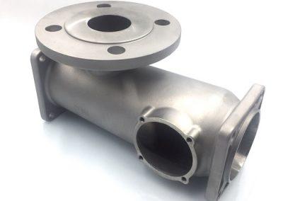Microfusione Corpo Pompa a Cavità Progressiva - Cavity Pump Body in Investment casting