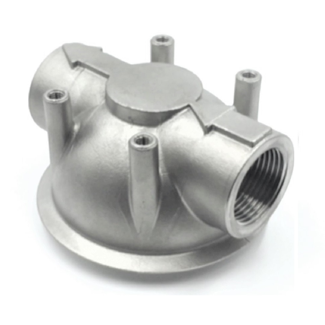 Cartridge Filter Head in Investment casting - Testa cartuccia Filtro in Microfusione